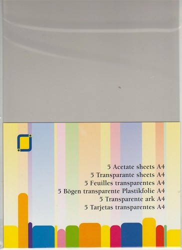 Transparante sheets - JeJe
