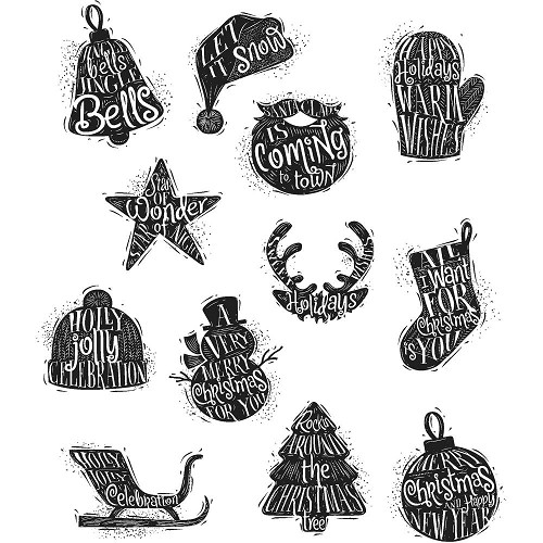 Stempels - Stampers Anonymous - Tim Holtz collection