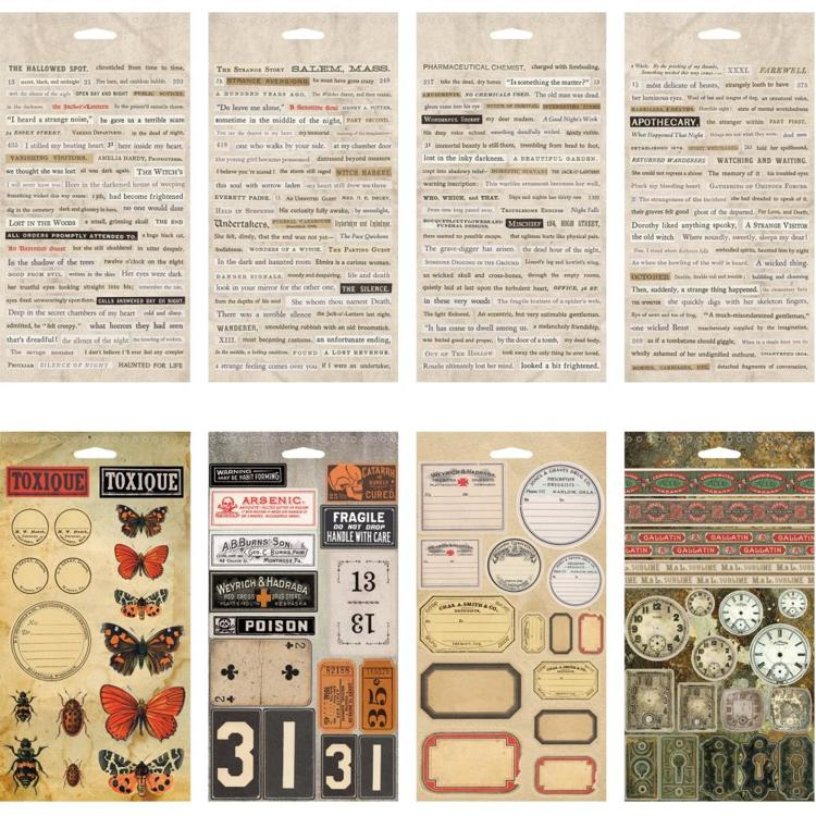 Stickers - Tim Holtz