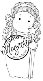 Magnolia rubber stamp - OPRUIMING