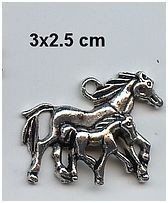 Charms paarden - AS