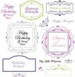 Cling stamps - JustRite