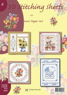 Stitching sheets - Ann`s paper art