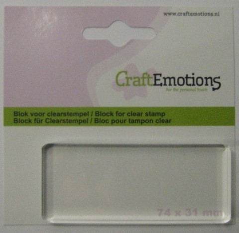 Acrylblok - Craft Emotions