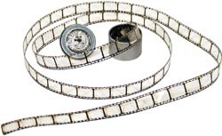 Film strip ribbon - Tim Holtz