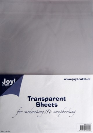Transparante sheets - Joy
